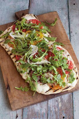 Summer Vegetable Grilled Pizza