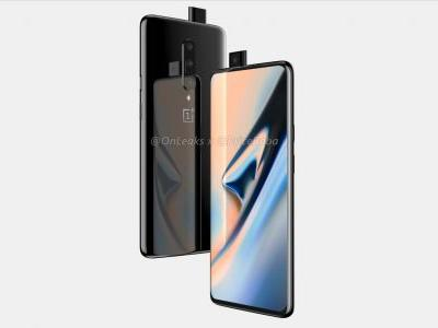 OnePlus 7 renders with pop-up selfie camera surface the web yet again