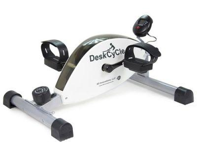 This discreet desk peddler makes exercising at work easier than ever
