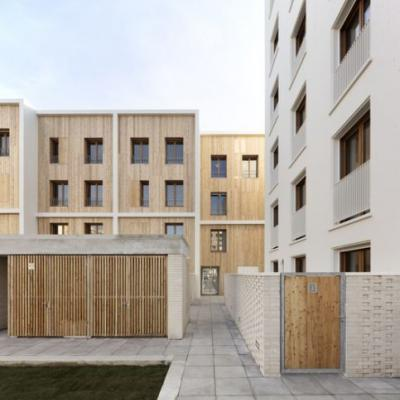 71 Social Housing Units La Courneuve / JTB.architecture + MaO architectes
