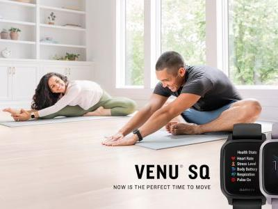 Garmin Venu SQ GPS watches offer health features at a lower price