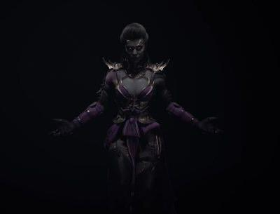 Here comes the bride: Our first look at Sindel in Mortal Kombat 11