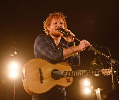Ed Sheeran rushed to hospital after getting hit by a car in London