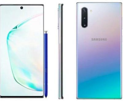 256GB Samsung Galaxy Note 10 to retail for €999