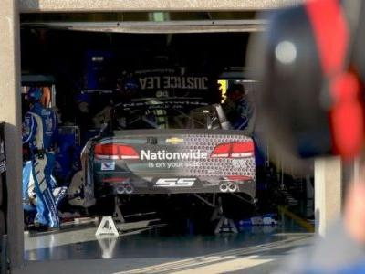 Wheel Issues Take Dale Earnhardt Jr. Out Of Contention In His Final Race At Texas Motor Speedway