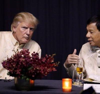Trump makes friends by putting America first and ignoring human rights in Asia