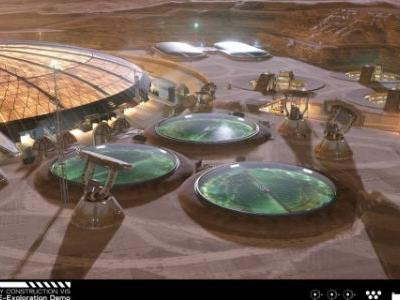 Blackbird Interactive releases demo for Project Eagle base on Mars