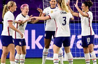 USWNT dominates Colombia, 4-0, as Mewis sisters combine for all four goals