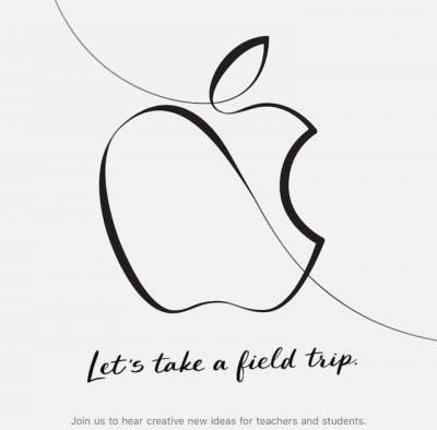 Apple to Host March 27 Event in Chicago: 'Creative New Ideas for Teachers and Students'
