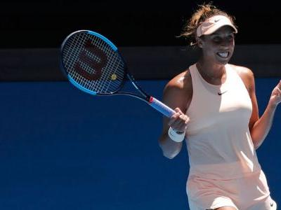 Madison Keys beats Caroline Garcia to reach Aussie Open quarters