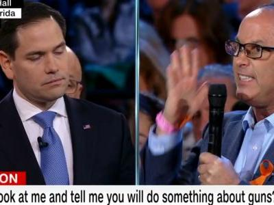 Your words have been 'pathetically weak': Marco Rubio gets an earful at CNN town hall on Parkland shooting