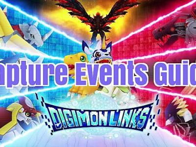 Digimon Links Guide: What are the Best Capture Events?