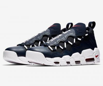 Nike's Air More Money Receives Classic Navy and Red Colorways