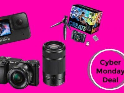 Save big on Sony, Canon, and more with Cyber Monday camera deals