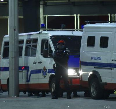 Basque police express 'dismay' at death of officer after fan violence