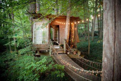 The most popular listing on Airbnb is a secluded treehouse in Atlanta