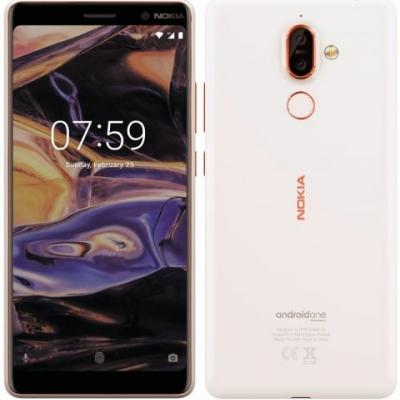 Android One-based Nokia 7+ with 18:9 display and dual-lens ZEISS camera surfaces