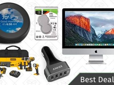 Tuesday's Best Deals: Amazon Echo Spots, DEWALT Tools, Refurbished iMacs, and More