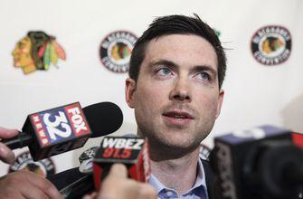 Colliton looking forward to camp with new-look Blackhawks