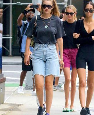 Did Gigi Hadid Just Make Bermuda Shorts. Happen?