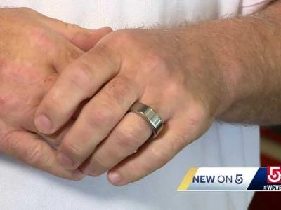 Biometric rings for firefighters to monitor health amid COVID-19 pandemic