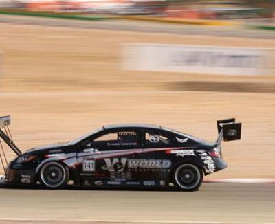 That Crazy Scion tC Time Attack Racer With The Wing On The Front Is For Sale