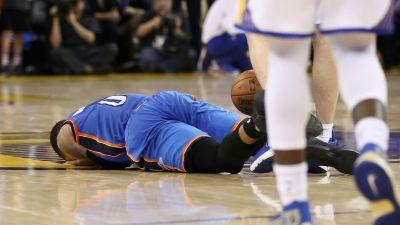 WATCH: Zaza Pachulia hammers Russell Westbrook with flagrant, then taunts him