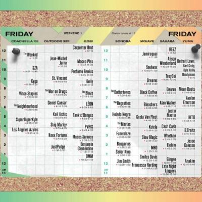 Coachella reveals 2018 set times, and there are a lot of tough choices to make