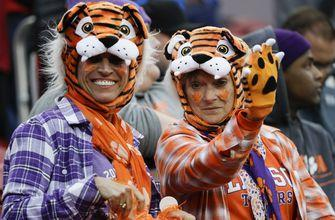 The Latest: Nikki Haley on Tigers sideline before title game
