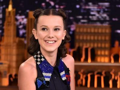 Millie Bobby Brown Wore Miu Miu To Rap About 'Stranger Things'