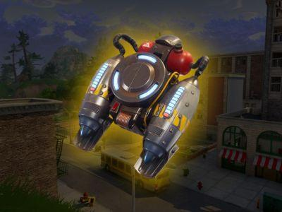 Fortnite is finally getting some limited time jetpacks