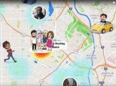 Snapchat Introduces Simple Location Sharing