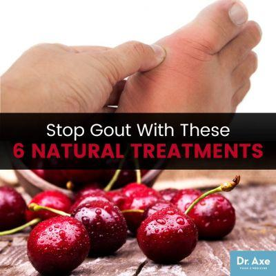 End Discomfort & Pain from Gout Symptoms