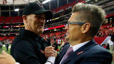 Falcons built for sustained success thanks to healthy coach-GM relationship