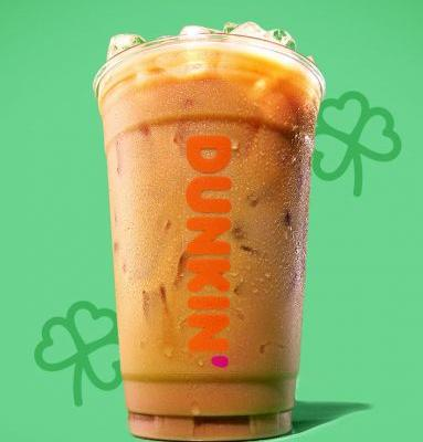 We're in Luck: Dunkin' Just Brought Back Irish Creme Coffees For St. Patrick's Day