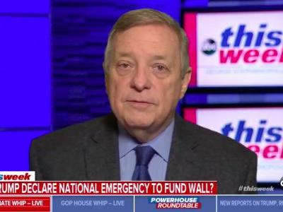 Sen. Dick Durbin: Shutdown Will End When Trump Realizes He's Lost Senate Republicans