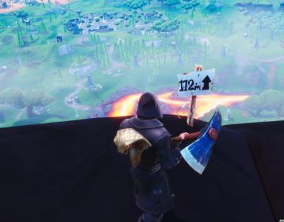 Fortnite: visit the five highest elevations on the island