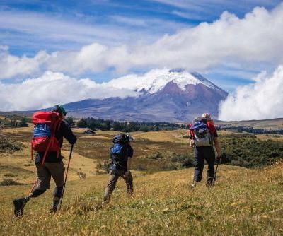 A group of amputee-athletes are attempting to climb one of South America's toughest peaks