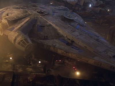 First Look At Star Wars Galaxy's Edge Millennium Falcon At Disney World