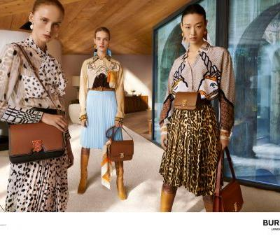 Riccardo Tisci's First Campaign At Burberry Stars Irina Shayk, Stella Tennant, Fran Summers and More