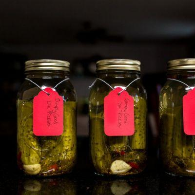 Simply Good Dill Pickles
