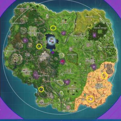 Fortnite: Where to find the radar signs - all radar locations