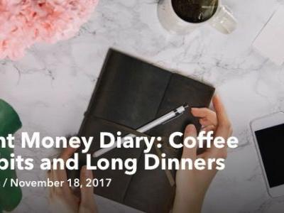 Mint Money Diary: Coffee Habits and Long Dinners