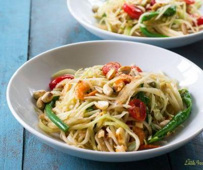 Som Tum: Green Papaya Salad