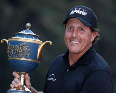 Phil Mickelson wins playoff in Mexico, ends long drought