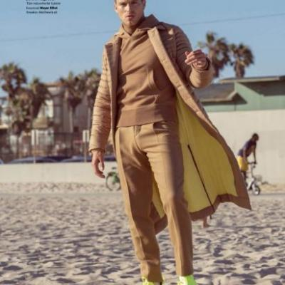 Matthew Noszka Hits the Beach with Esquire Turkey