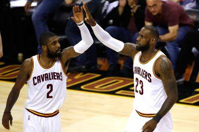 Kyrie Irving now out of LeBron's shadow but in his line of fire