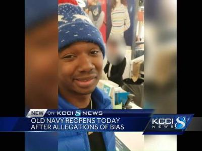 Old Navy reopens after allegations of racial bias