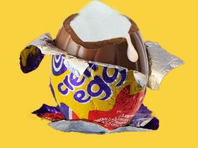 It takes 15 minutes of burpees to burn off a creme egg, but that's not the point