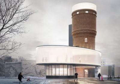 IND Architects to Renovate Historic Water Tower in Moscow